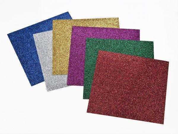 Sticker Mosaik glitter, selbstklebend, 10x10 mm, 800 Stück,