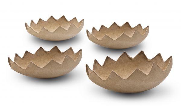 Paper Art Eierhälfte, 4er-Set