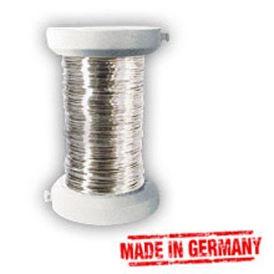 Silberdraht 0,40mm, 40m Spule