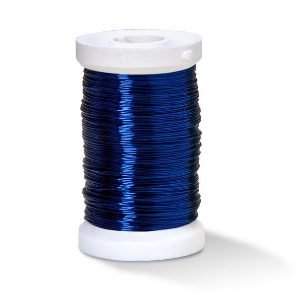 Kupferlackdraht 0,25 mm blau, 50 m-Spule