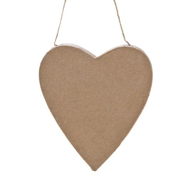 Paper Art - Anhänger Herz, 13x11x1,2 cm