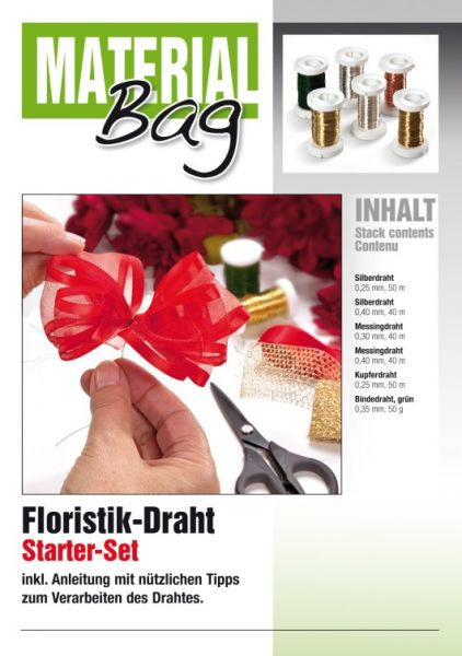 Drahtset Floristik inkl. Anleitung