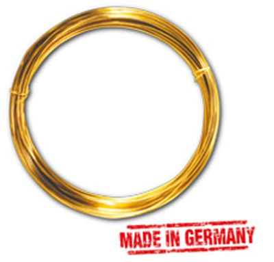 Messingdraht 1,0 mm, 4 m-Ring