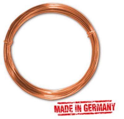 Kupferdraht 1,0 mm, 4 m-Ring