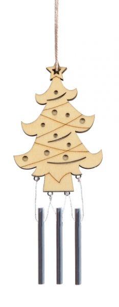 Holz Windklangspiel Tannenbaum