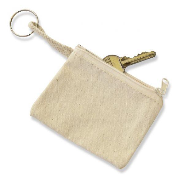 Baumwoll Schlüsseletui 8x10 cm