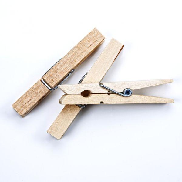 Wäscheklammern aus Holz 25x3 mm