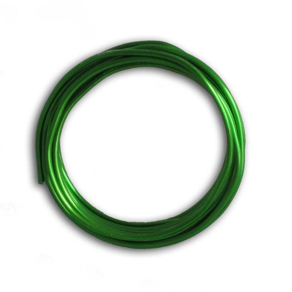 Aludraht 2,00 mm, apfelgrün, 5m