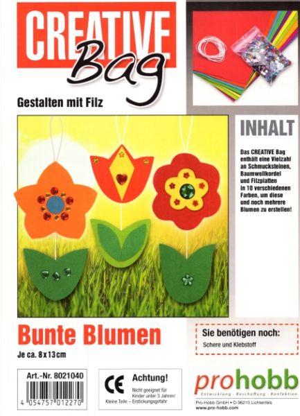Kreativ Set Filzies, Blumen