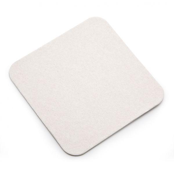 Bierdeckel quadratisch, 100 Stück eingeschweißt, 9,3x9,3cm