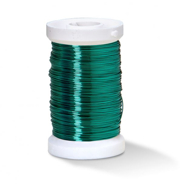 Kupferlackdraht 0,25 mm grün, 50 m-Spule