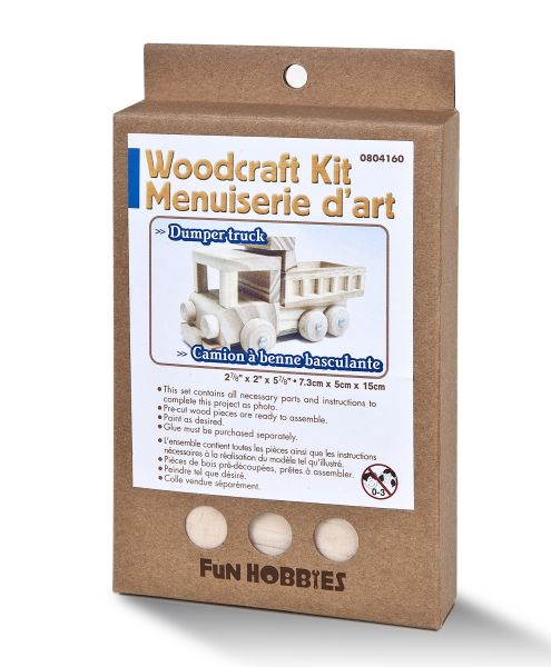 Holz Modellbausatz LKW