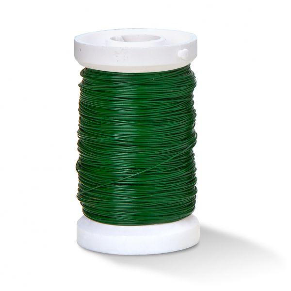 Bindedraht 0,35 mm grün, 100 m-Spule