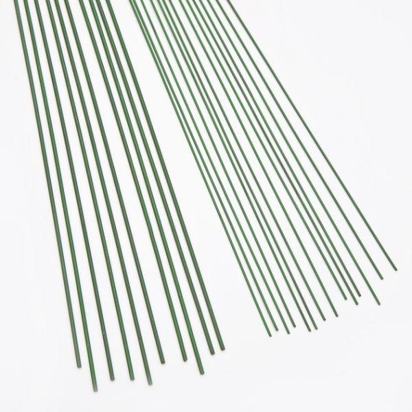 Steckdraht 1,5x400 mm grün, 10 Stück