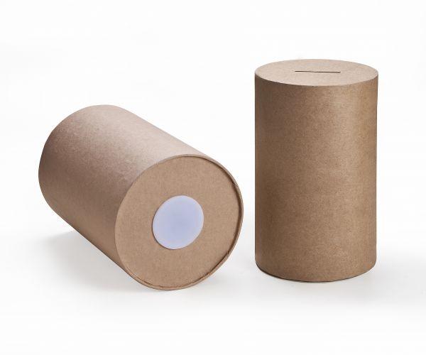 Paper Art Spardose rund