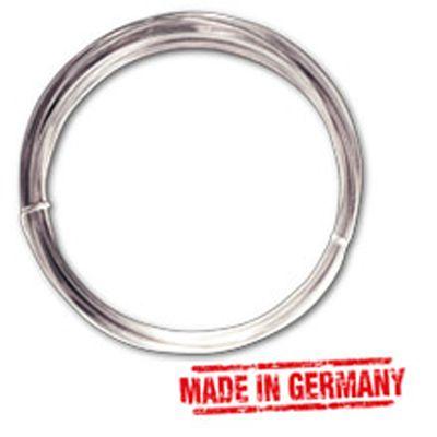 Silberdraht 1,0 mm, mit Kupferkern, 4 m-Ring